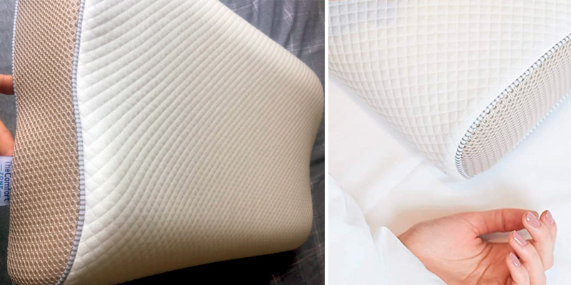 Review of TheComfortZone Contour Memory Foam Pillow Orthopedic Support