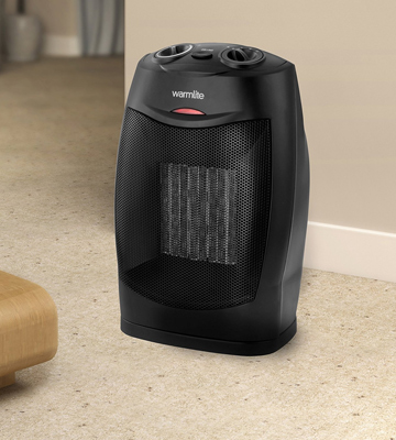 Review of Warmlite WL44005 Ceramic Fan Heater, 1500 W