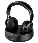 Thomson WHP3001BK Wireless Headphones for TV
