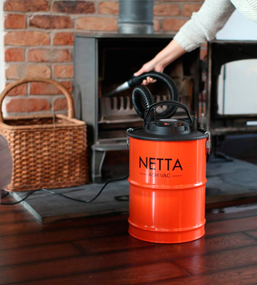 Review of NETTA 18L Ash Vacuum Cleaner 800W With Blow Function