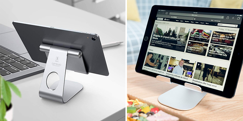 Review of Lamicall Adjustable Tablet Holder