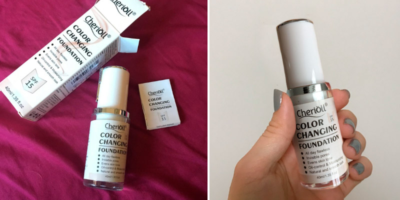 Review of Cherioll Colour Changing Nude Face Moisturizing Cover