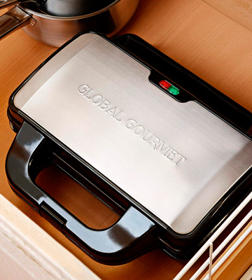 Review of Global Gourmet GG020 Non-Stick Square Waffle Maker