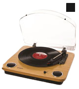 ION Audio Max LP 3-Speed Belt Drive Turntable with Built-In Speakers