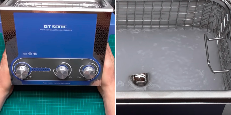 Review of GT SONIC GDMZ0 3L Ultrasonic Jewellery Cleaner