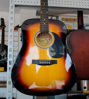 Review of Fender 0930307032 SA-105CE Dreadnought acoustic Electric Guitar