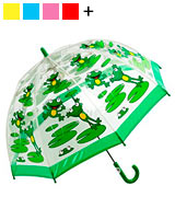 Bugzz BUFG Clear PVC Umbrella