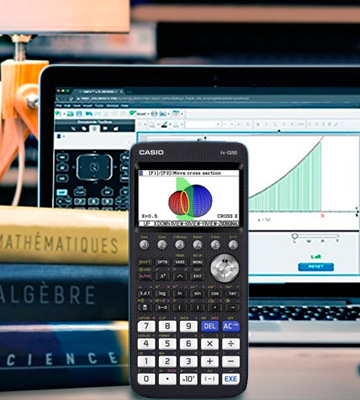 Review of Casio X-CG50 Calcuso Calculator with Case