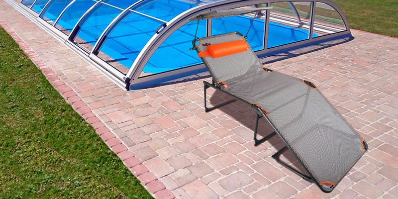 Review of Portal Outdoor (PT-CH-KEVIN) Camping Lounger