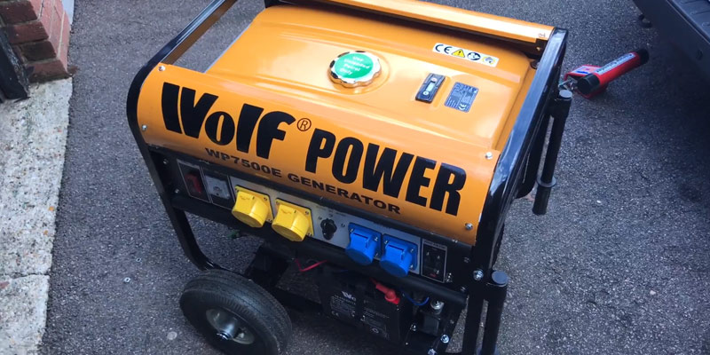 Review of Wolf WP7500E 7000 Watt Electric Start Portable Generator