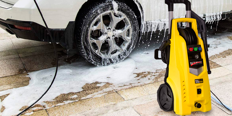 Review of Wilks -USA RX525 High Powered Pressure Washer - 165Bar