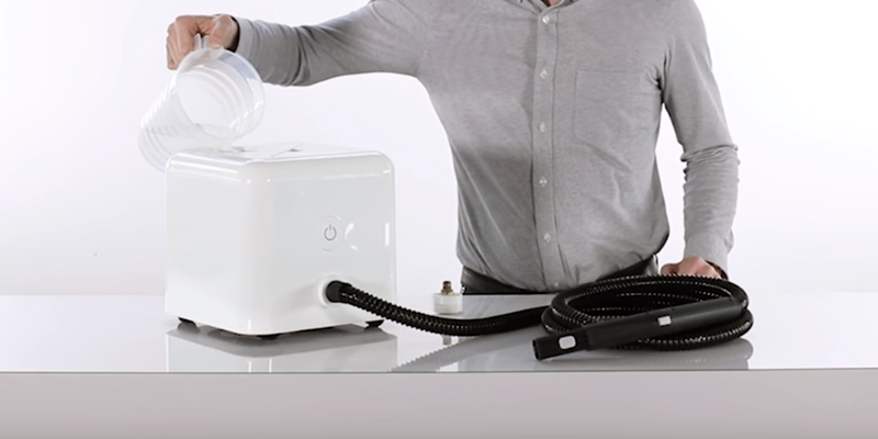 Dupray Neat Multipurpose Steam Cleaner in the use