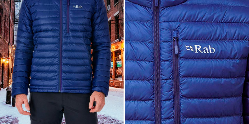 Review of Rab Microlight Jacket highly packable and warm down jacket