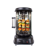 Quest 34020 Vertical Rotisserie Grill with Timer