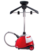 Quest 42320 Red Upright Garment Steamer