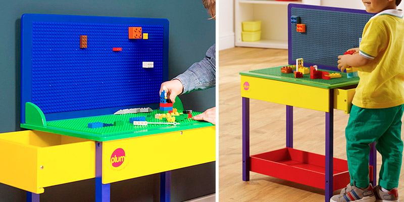 Review of Plum 41060 Construction Block Building Table