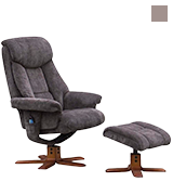 Morris Living Exmouth Recliner Massage Chair & Footstool