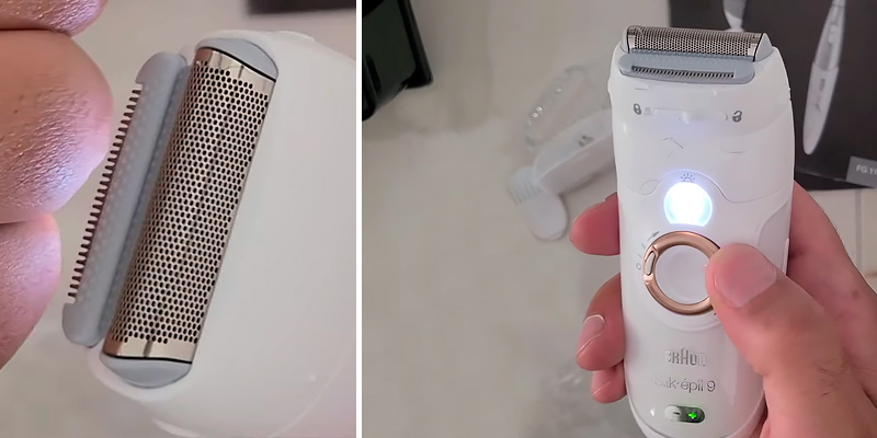 Review of Braun Silk SE9-961 Wet and Dry Epilator