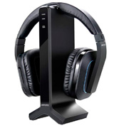 ARTISTE D1 Wireless TV Headphone with 2.4GHz Digital Transmitter and Charging Dock