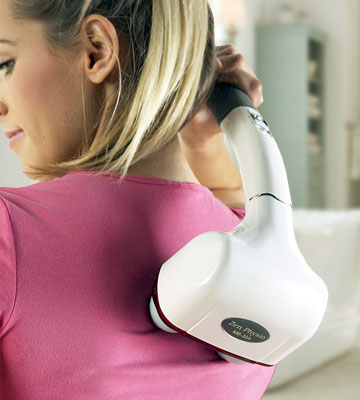 Review of Reviber Zen Physio MB-30A Deep Tissue Back and Shoulder Massager with Infrared
