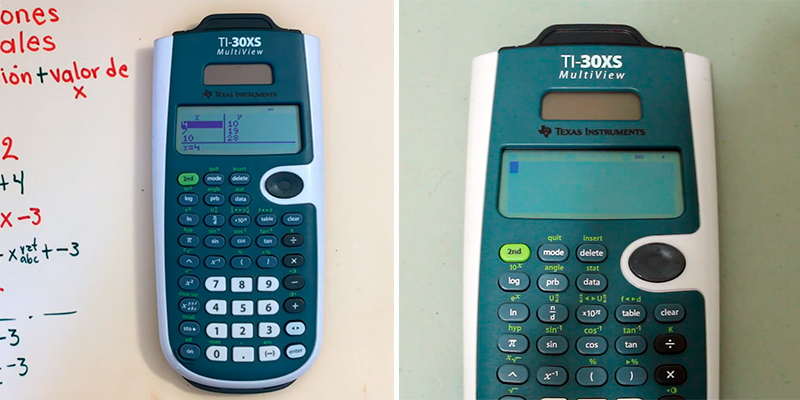 Review of Texas Instruments TI-30XS MultiView Scientific calculator