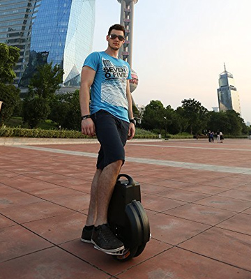 Review of Airwheel Q3 Electric Unicycle Tough Off Road Twin Wheel