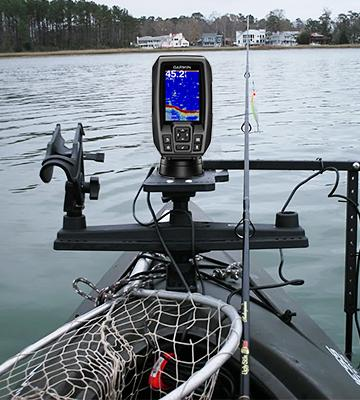 Review of Garmin Striker 4 (010-01550-00) Kayak Fishfinder