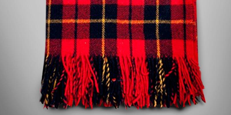Review of Highland Tartan Tweeds of Scotland Wool Blanket