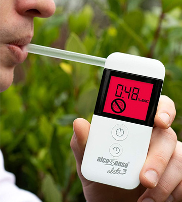 Review of AlcoSense Elite 3 Breathalyzer & Alcohol Tester for UK