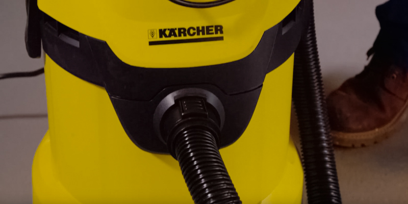 Karcher WD3P Wet and Dry Vacuum Cleaner in the use