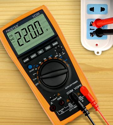Review of Proster PST99 Auto-Ranging Multi Tester with Capacitance Frequency Test and Temperature Measurement