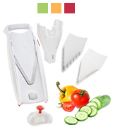 Borner 5W51110 V5 PowerLine Plus Mandolin Slicer Set (white)