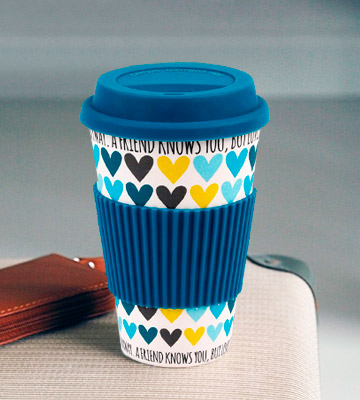 Review of Cambridge CM05510 Bamboo Reusable Coffee Cup