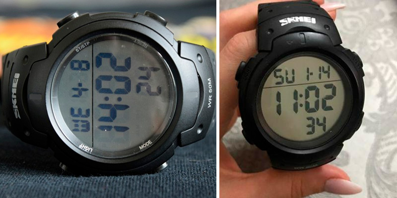Review of SKMEI Mens Sports Digital Watches Outdoor Waterproof Sport Watch with Alarm/Timer