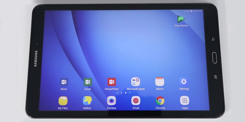 "Review of Samsung Galaxy Tab A (SM-T580NZKEBTU) 10.1"" Wi-Fi Tablet (2GB RAM, 32GB eMMc)"