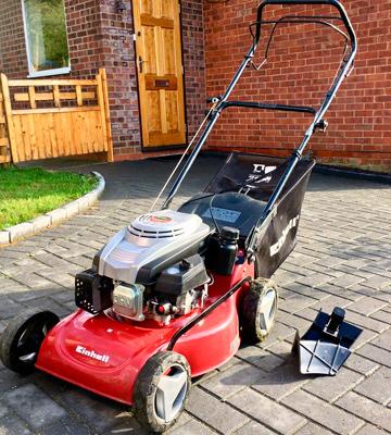Review of Einhell GC-PM 46 S Self Propelled Petrol Lawnmower