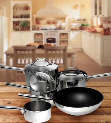Review of Meyer 9-Piece Professional Cookware Set