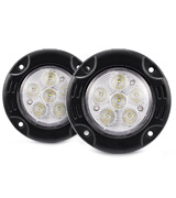 Mictuning MIC-LP-099R 18W Flush Mount Round LED Light Bar