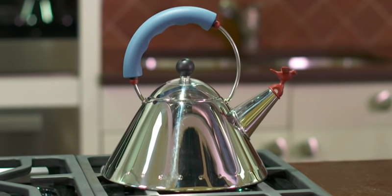 Review of Alessi Blue Bird 1 L Kettle with Whistle Hob