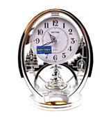 Rhythm Clock 4SG768WR19 Mantel clock from the Contemporary Mantel Clocks range.