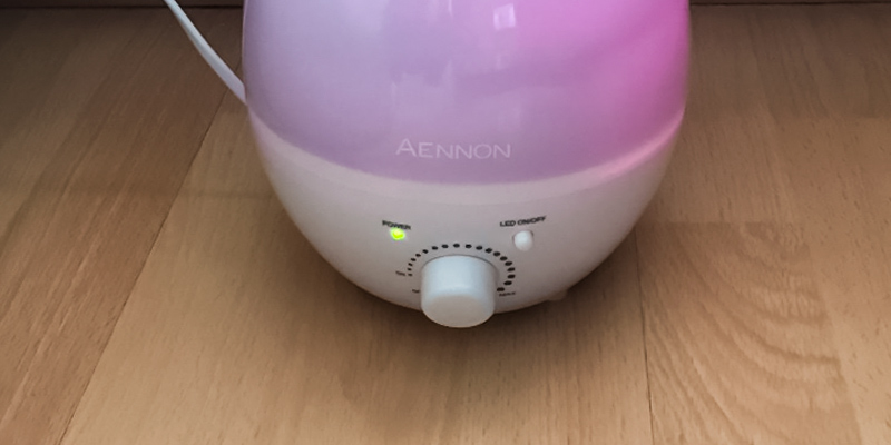 Aennon Cool Mist 2.8L Ultrasonic Humidifiers in the use