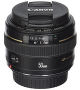 Canon EF 50mm f/1.4 USM Lens for Canon DSLRs