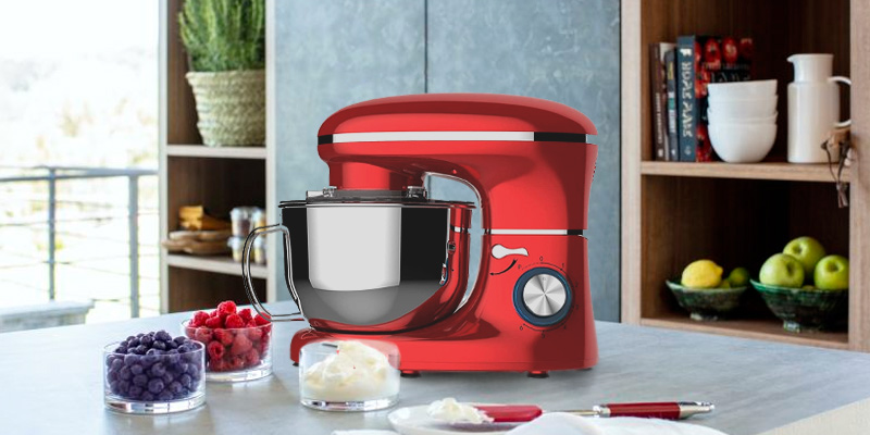 Review of Heska 1500W 4-in-1 Food Stand Mixer