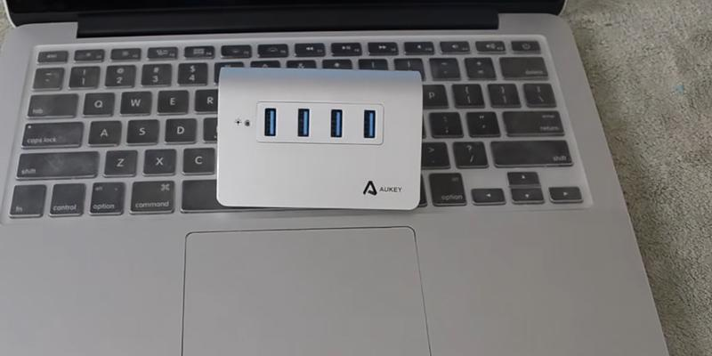 Review of Aukey 4-Port Aluminum Superspeed USB Hub
