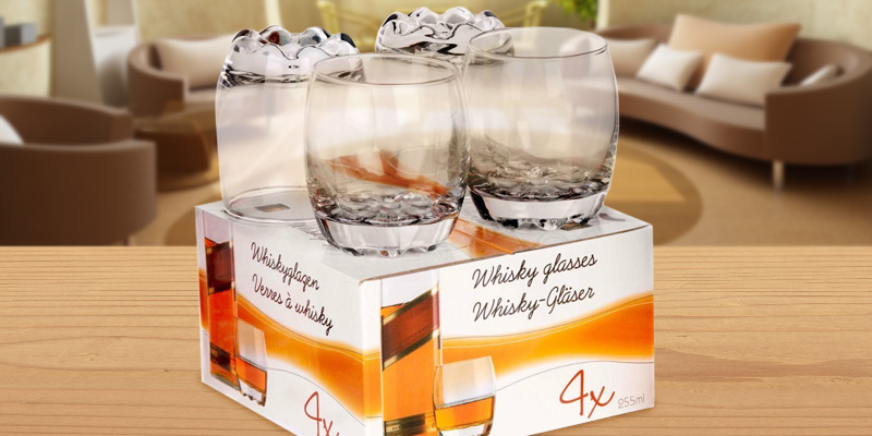 Edco 15321 Whisky Glasses Set in the use