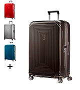 Samsonite Neopulse Suitcase 4 Wheel Spinner