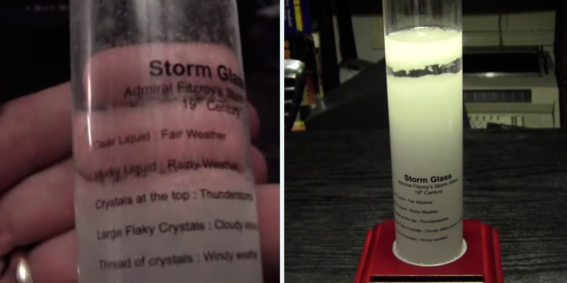 Review of Bits and Pieces Admiral Fitzroy's Storm Glass Weather Station