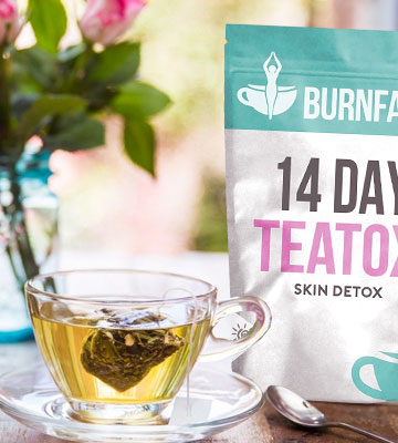 Review of Burnfatea Teatox Skin Detox Tea