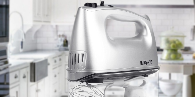 Review of Duronic HM4 Electric Hand Mixer Set