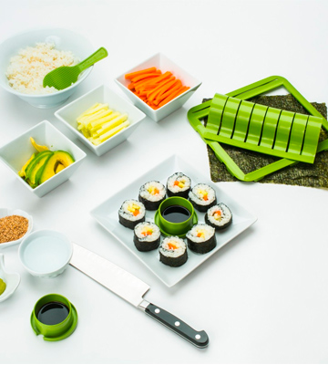 Review of Sushiquik KIT-SUSHIROLLER